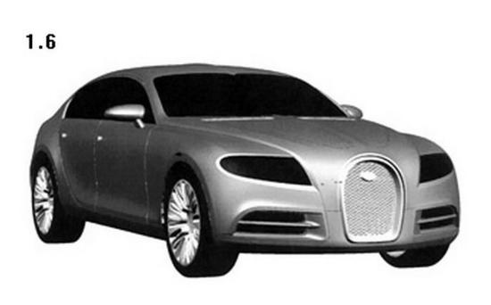 布加迪提交专利申请图片