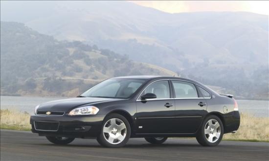 图为雪佛兰Impala