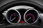 全新Mazda3两厢仪表盘