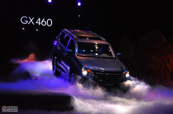 图为雷克萨斯GX460