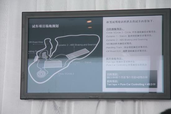 试车场地图