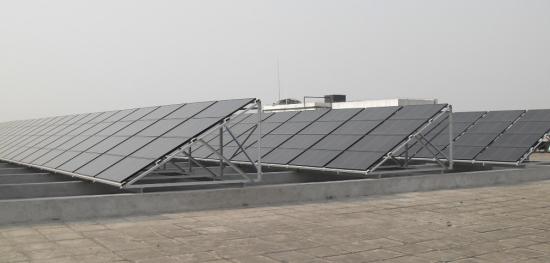 综合办公楼屋顶太阳能光伏发电系统