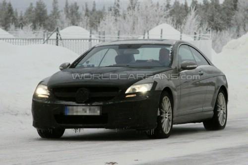 2011款奔驰S级AMG Coupe路试
