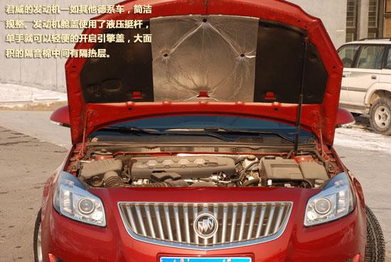 发动机盖有液压撑杆