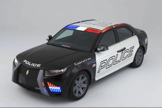 图为美国警车