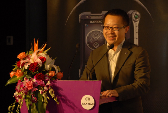 法国HANMAC品牌亚太区运营中心执行董事 苏进
