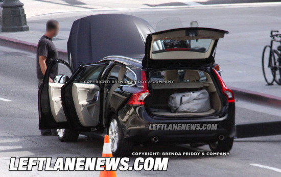 2011款沃尔沃V60旅行车无伪谍照