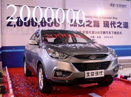 ix35的上市让北京现代逐步完成品牌第一阵营的华丽转身