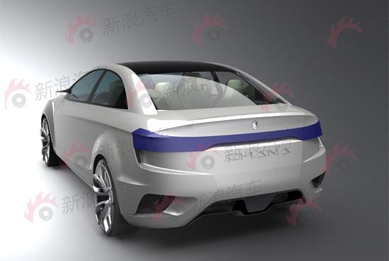 长安C201概念车首发