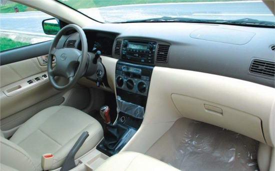 2010款比亚迪f3新白金版中控台