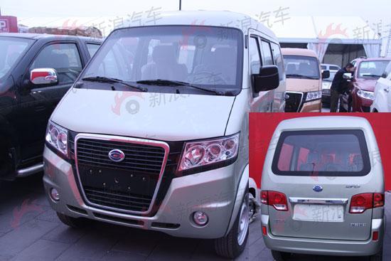 吉奥的微面车型