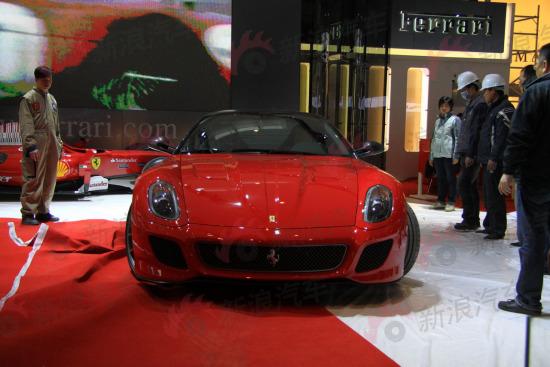 图为法拉利全新599 GTO