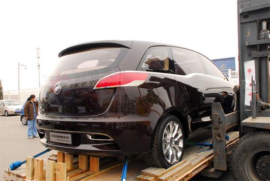 据新浪汽车此前谍照报道,新GL8的外观与此款概念车基本一致