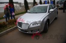 2010年北京车展探馆之华泰中级车B21现身
