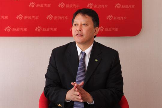 广汽丰田汽车有限公司副总经理江积哲也先生做客新浪访谈间