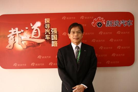 马自达中国董事长兼CEO山田宪昭