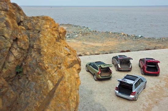 奥迪Q5 奔驰GLK 凯迪拉克SRX 沃尔沃XC60