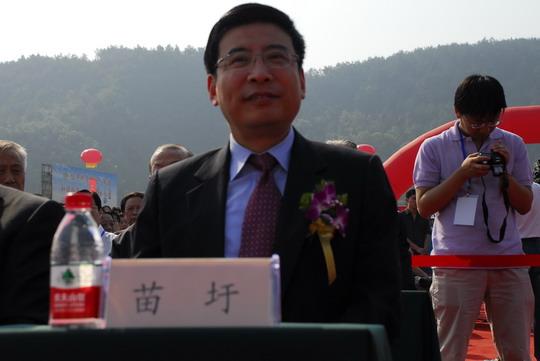 工业和信息化部副部长苗圩