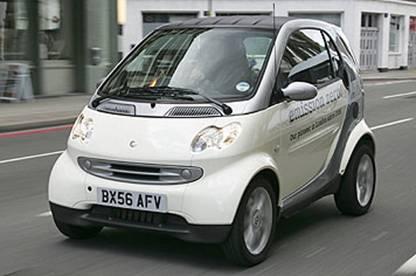 smart fortwo电动车型