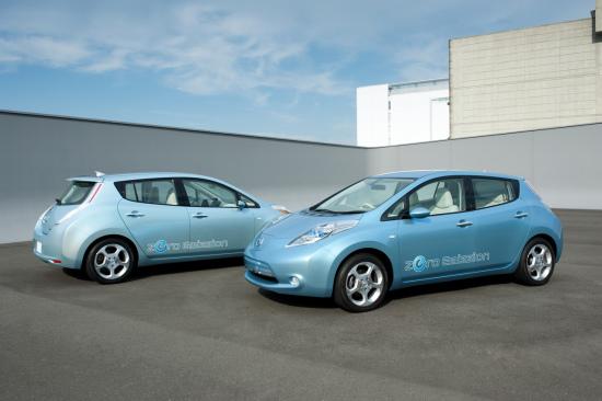 日产宣布叶子电动汽车欧洲售价 低于3万欧元