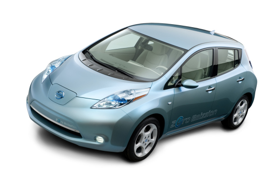 日产叶子电动汽车