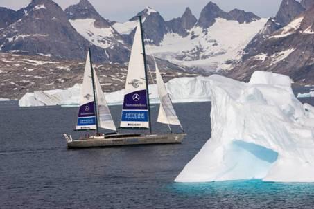 """2008年5月,传奇探险家麦克・霍恩启动了""""PANGAEA""""全球探险环保行动"""
