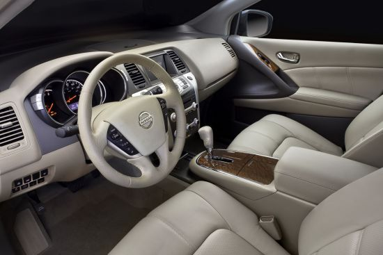 2011款日产Murano改款车