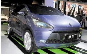图为广汽理念首款Crossover概念车