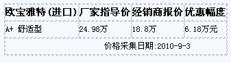 欧宝雅特北京最新行情