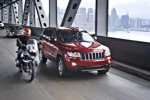 图为全新一代Jeep® Grand Cherokee大切诺基