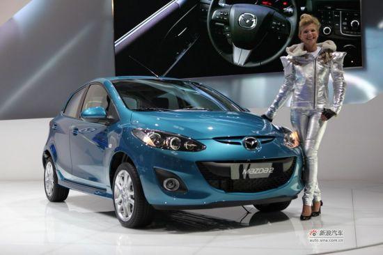 马自达新一代车型共有的大面积五边形微笑网格进气格栅