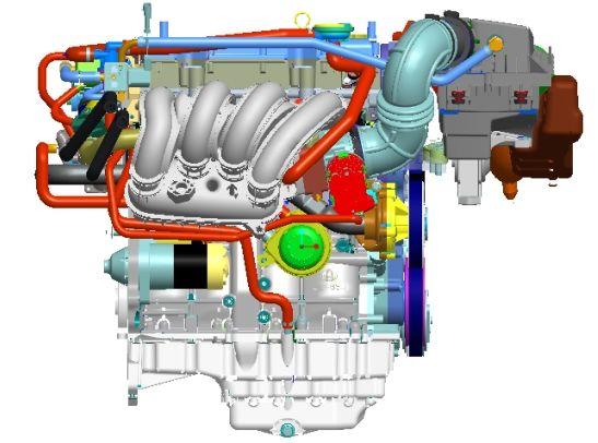 自主研发 长安新一代发动机取得重大突破图片