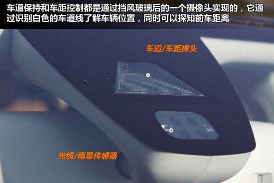 位于挡风玻璃后面的这个探头提供了两种新功能