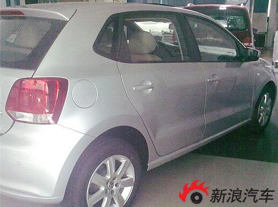 上海大众国产新POLO贴身实拍
