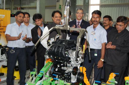 通用汽车印度新发动机工厂落成投产