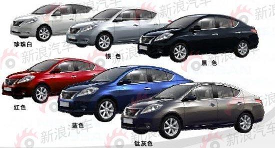 东风日产1.5L新阳光6款车型独家全面曝光