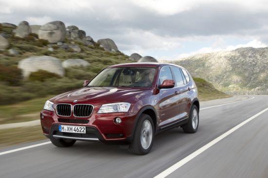 图为全新一代BMW X3