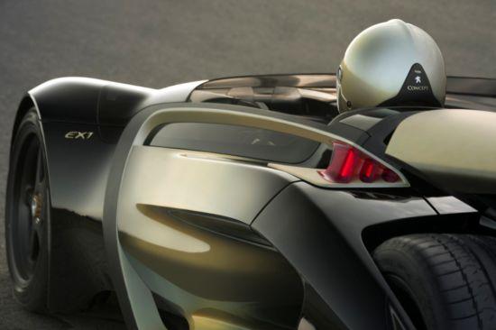 广州车展首发:标致EX1概念车