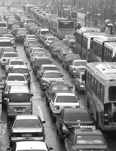 交通拥堵问题已成城市顽疾。资料图