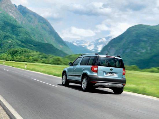 斯柯达紧凑型SUV车型Yeti2009年于欧洲上市