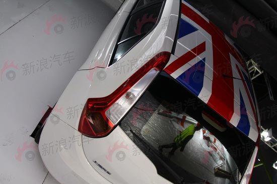 2010广州车展探馆 上汽MG3独家抢先实拍