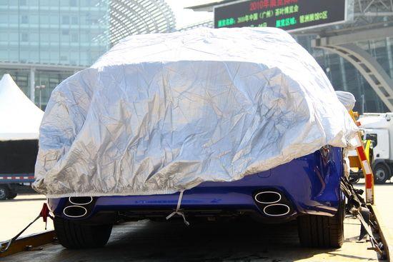雷克萨斯高性能运动轿车IS-F 登陆广州车展