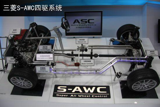 三菱S-AWC四驱系统