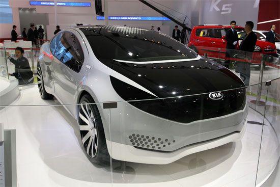 起亚品牌首款Hybrid概念车Ray