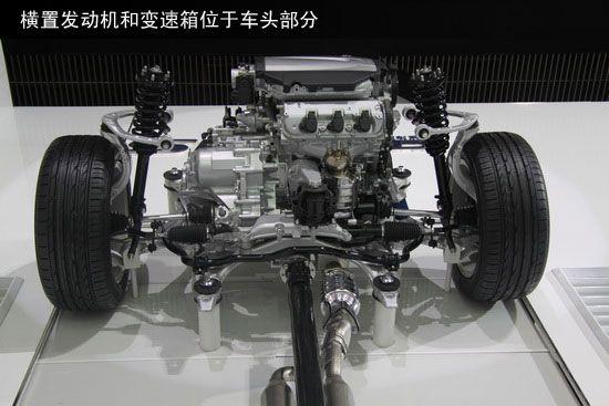 车头只有发动机、变速箱和前差