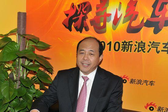 奇瑞销售有限公司总经理马德骥先生