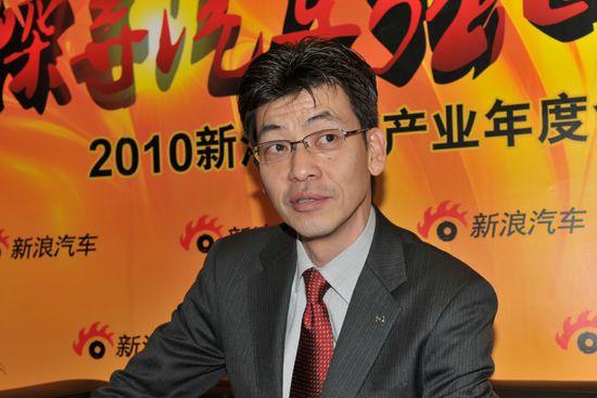 长安马自达总经理柳川昌巳先生