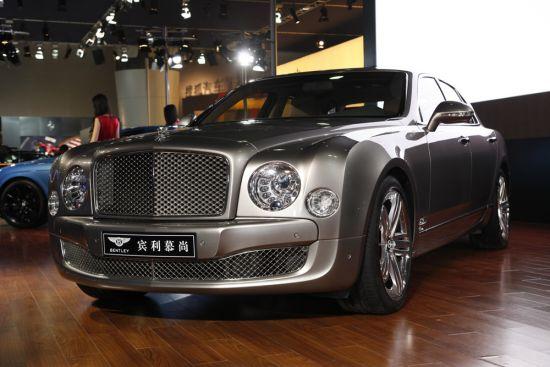 豪车市场火热 宾利广州车展7天售出18台
