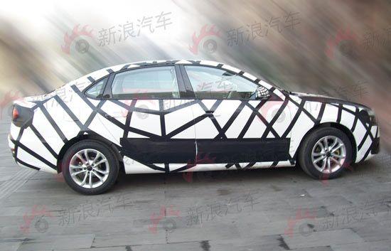华晨中华新A4轿车独家贴身实拍