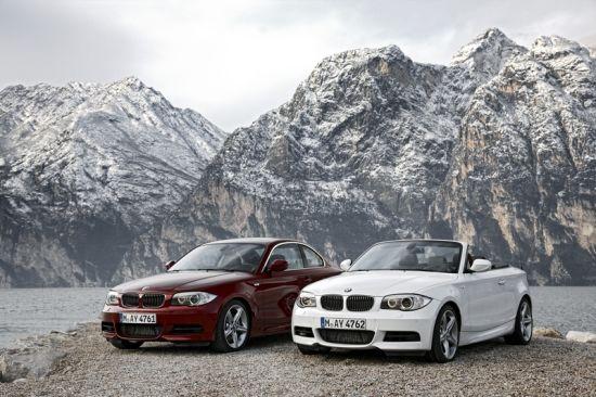 新BMW 1系双门轿跑车和新BMW 1系敞篷轿跑车